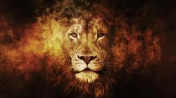 Animals artwork lions wallpaper