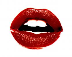 red lips wallpaper