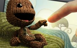 Sackboy and Human - little-big-planet Photo