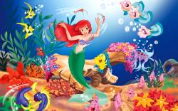 Little Mermaid Wallpaper