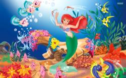 The Little Mermaid widescreen for desktop