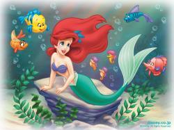 Cute Little Mermaid Wallpaper for Desktop (9)