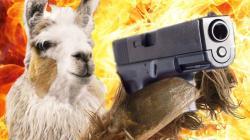 Badass Llama Fights Crime: Series Trailer: LLAMA COP