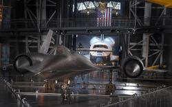 Lockheed SR 71A Hangar