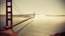 LOMO Bridge Landscape