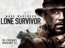 Lone Survivor UK Quad Poster