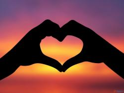 romantic hearts   Hand Made Heart HD Wallpaper ~ Love Wallpapers   HD Wallpapers   Free ...   Art   Pinterest