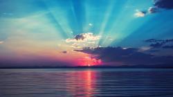Lovely Beach Sunrise