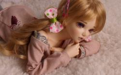 Lovely Doll Blonde Toy