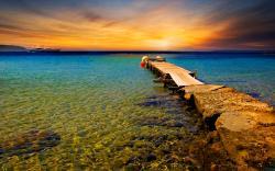 Lovely Sunset wallpaper