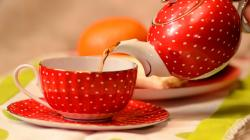 Lovely Tea Cup Wallpaper