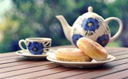 Lovely Teapot Wallpaper