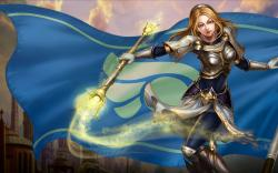 League Of Legends Lux full hd pics