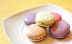 Macaron Dessert Colorful Food