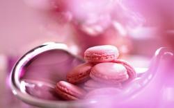 Macarons Pink Macro