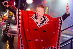 Macklemore performs at Dick Clark's New Year's Rockin' Eve Photo: Michael Stewart/WireImage