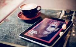 Macro Apple iPad 5 Steven Paul Jobs Photo