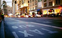 Madrid Spain Street City