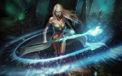 Magic enchantress