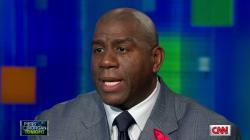 Magic Johnson Photo: CNN