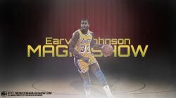 Earvin Magic Johnson wallpaper by michaelherradura