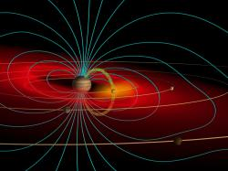 Every magnet generates a magnetic field. Several objects in our solar system also have their own massive magnetic fields: the Sun, Earth, Mercury, Jupiter, ...