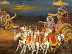 Who wrote the Epic Mahabharata?