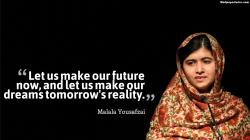 1920x1080, Malala, Yousafzai, Dream Quotes, Malala Yousafzai Quotes, Quotes, Wallpaper