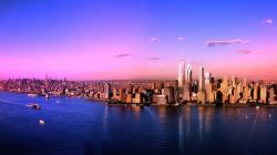 Manhattan At Sunset