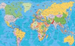 ... World map wallpaper 2560x1600 ...