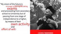Maria Montessori: A School Transformer