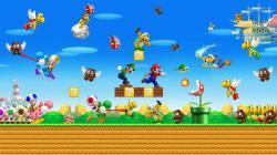 Mario Bros Background