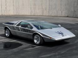 The Maserati Boomerang was styled by Giorgetto Giugiaro, who drew inspiration from this prototype for the design of a succession of new cars.