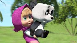 Masha And The Bear Wallpaper For Background
