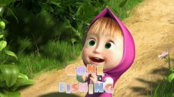 Masha and The Bear - Gone Fishing! (Episode 8)