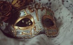 Carnival Mask Wallpaper
