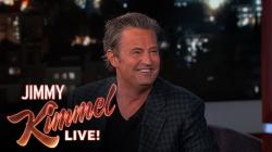 Matthew Perry Loves Hockey