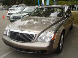 Several Maybach 57 and 62 models at the 2005 Concours d'Elegance in Pebble Beach, CA