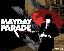 Mayday Parade Logo Wallpaper