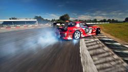 Wallpaper mazda, rx-7, drift, tuning, red, sportcar, smoke. +172