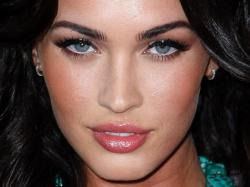 megan fox eyes