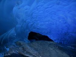 Medenhall Blue Ice Cave. Mendenhall ...