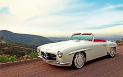 Mercedes 190SL Convertible