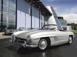 Mercedes 300SL Roadster ...