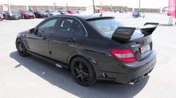 Mercedes-Benz C-Class with WALD Black Bison bodykit