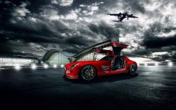Mercedes-Benz SLS AMG Car Aircraft