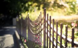 ... Metal Fence-wallpaper-2560x1600 by bhautik1
