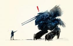Metal gear solid art