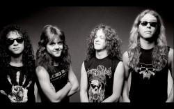 Preview wallpaper metallica, youth, band, members, haircut 3840x2400