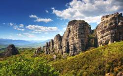 Meteora canyon greece